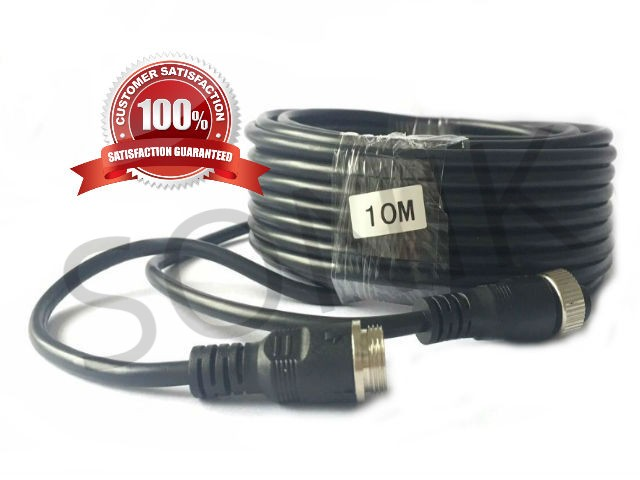 10m 4Pin Aviation Connector Video Audio Extend Cables for Car Vehicle Backup Camera /DVR