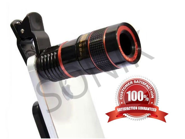 SNK-12X Zoom Lens Telescopic Universal Camera Lens for Android And IOS Smartphone.