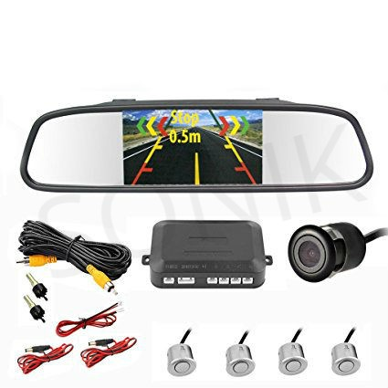 Parking Sensor System Camera and display Screen